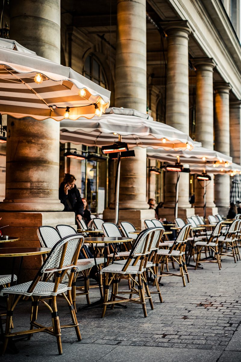 Cafe in Paris - Paris Travel Guide: Things to Do, See and Eat featured by popular Virginia travel blogger Alicia Tenise