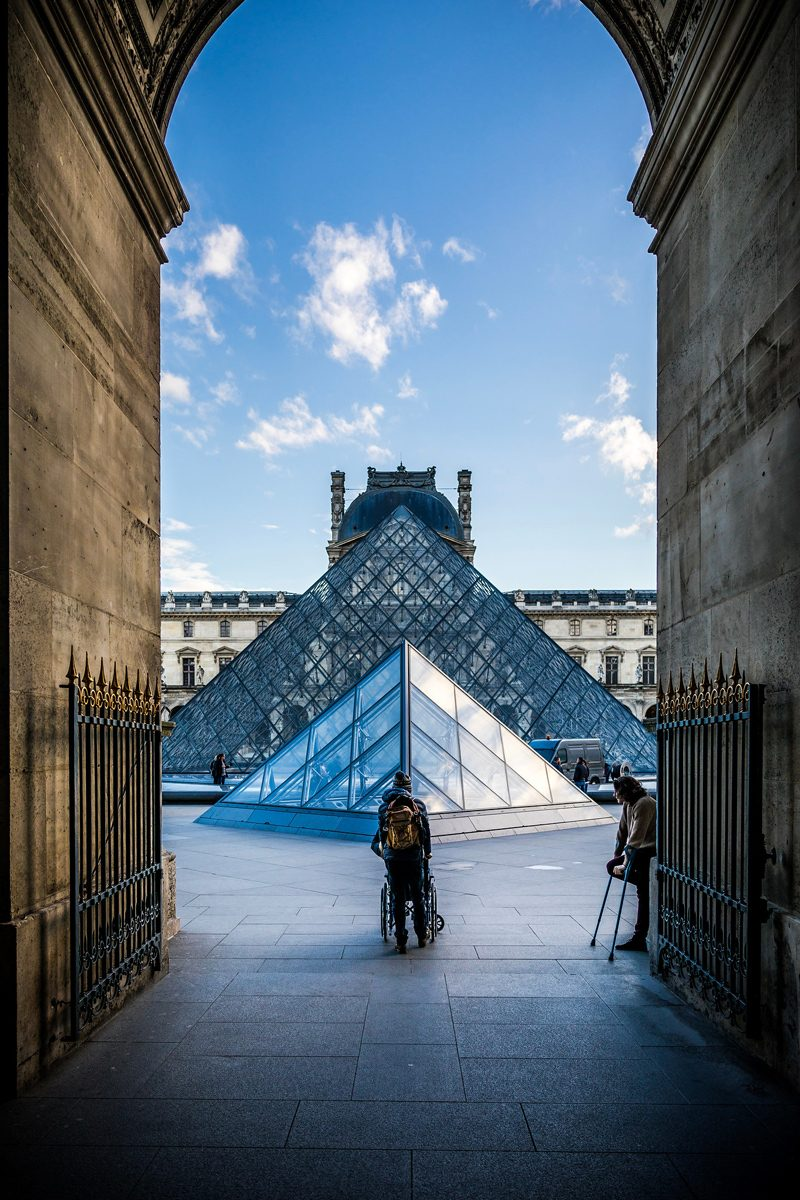 The Louvre - Paris Travel Guide: Things to Do, See and Eat featured by popular Virginia travel blogger Alicia Tenise