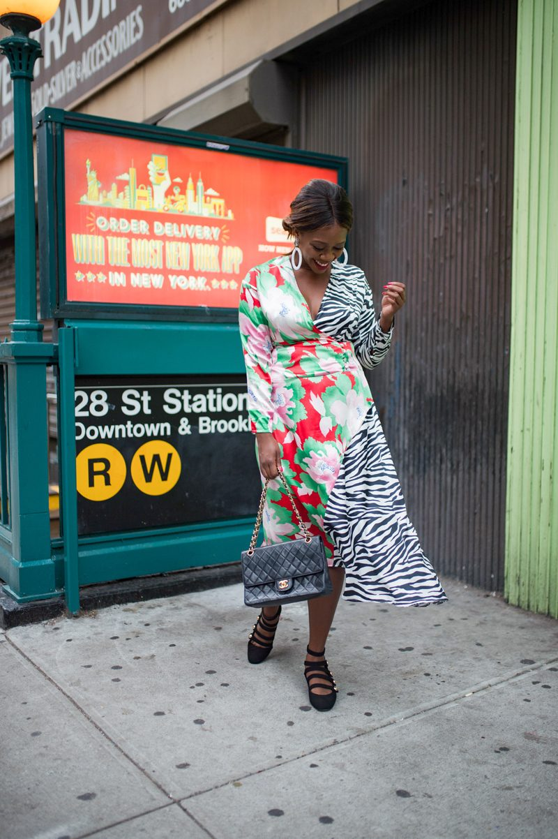 """Mix Print Outfit Idea - How to Deal With the Blogging Industry and its """"Competition"""" featured by popular Virginia blogger, Alicia Tenise"""