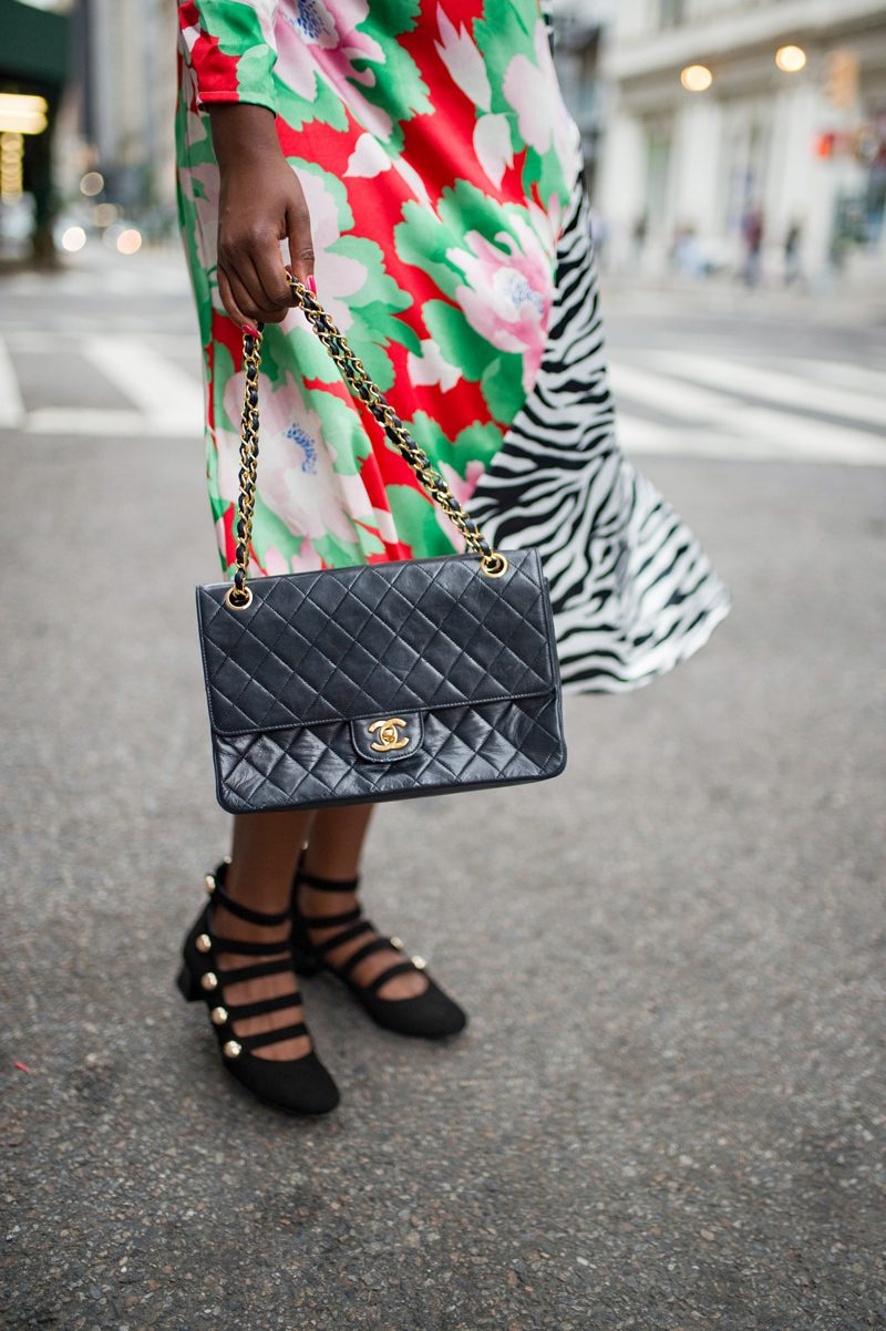 """Vintage Chanel Bag - How to Deal With the Blogging Industry and its """"Competition"""" featured by popular Virginia blogger, Alicia Tenise"""