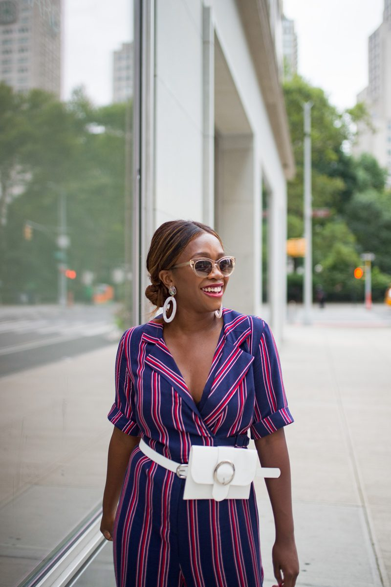 Belt Bag Trend, Warby Parker Tilley Sunglasses | NYFW Recap: Day 1 featured by popular Virginia fashion blogger Alicia Tenise