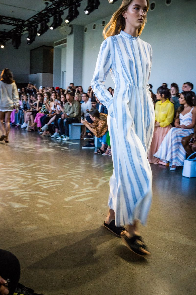 Noon by Noor SS19 | NYFW Recap: Day 1 featured by popular Virginia fashion blogger Alicia Tenise