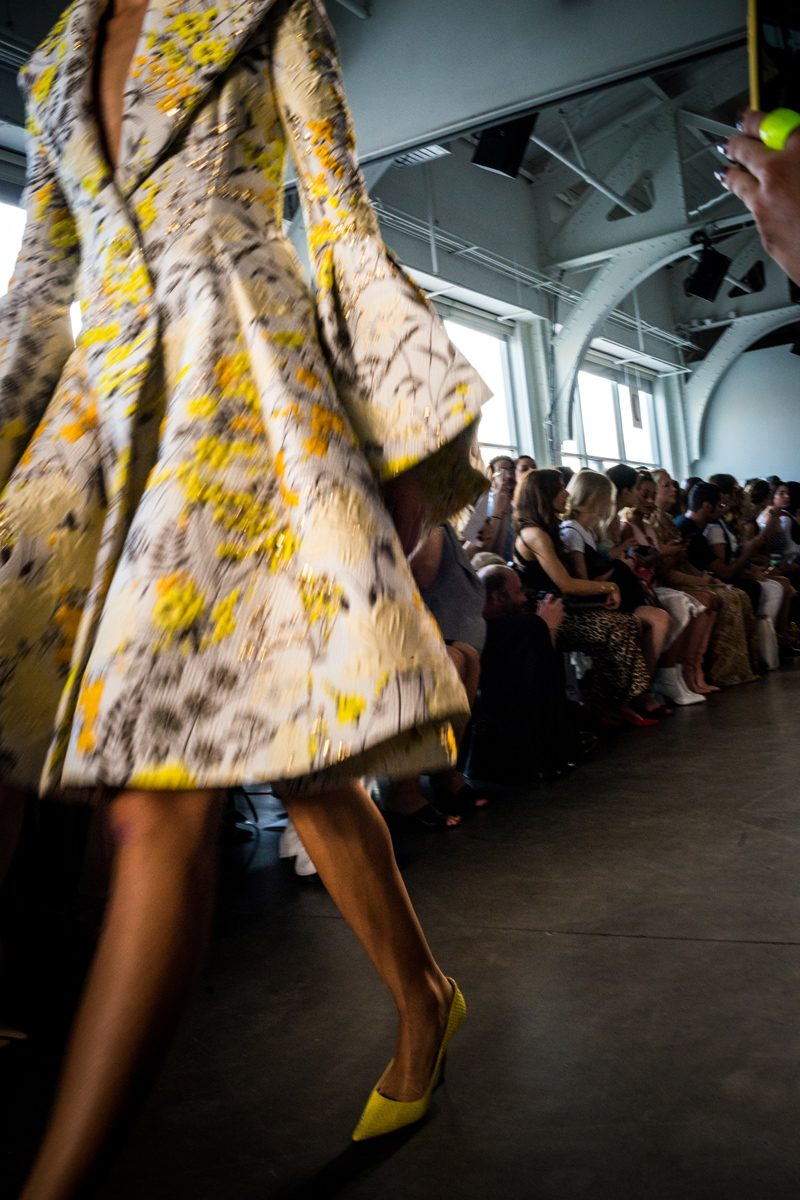 Pamella Roland NYFW Spring Summer 2019 | NYFW Recap: Day 1 featured by popular Virginia fashion blogger Alicia Tenise