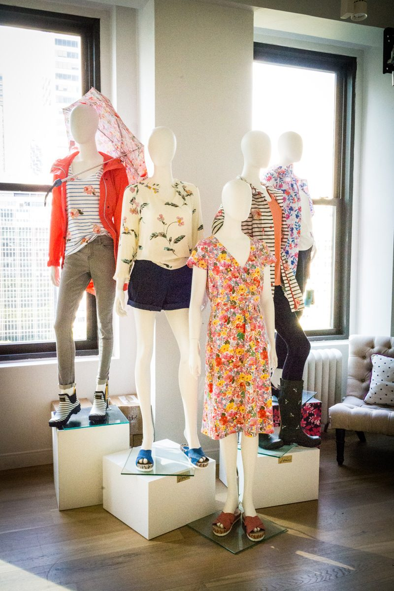Joules Showroom New York | NYFW Recap: Day 1 featured by popular Virginia fashion blogger Alicia Tenise