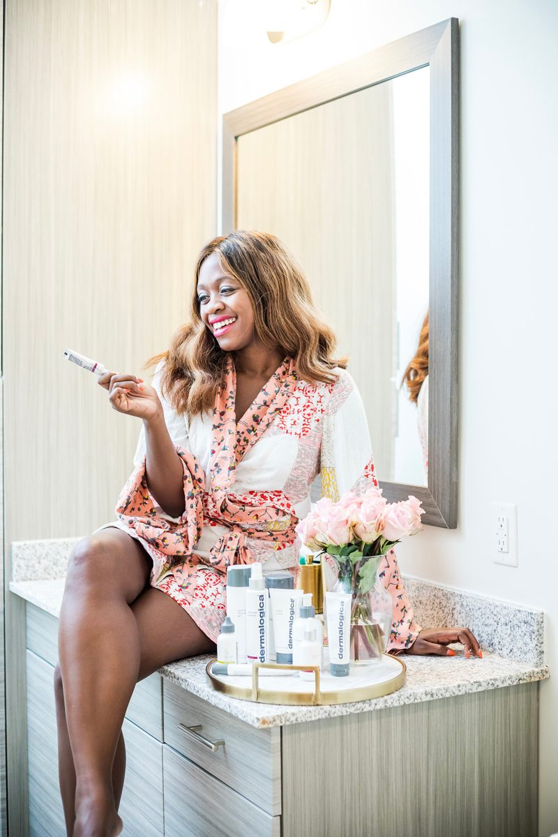 Fit Skin Fridays with Dermalogica Products featured by popular Virginia beauty blogger, Alicia Tenise