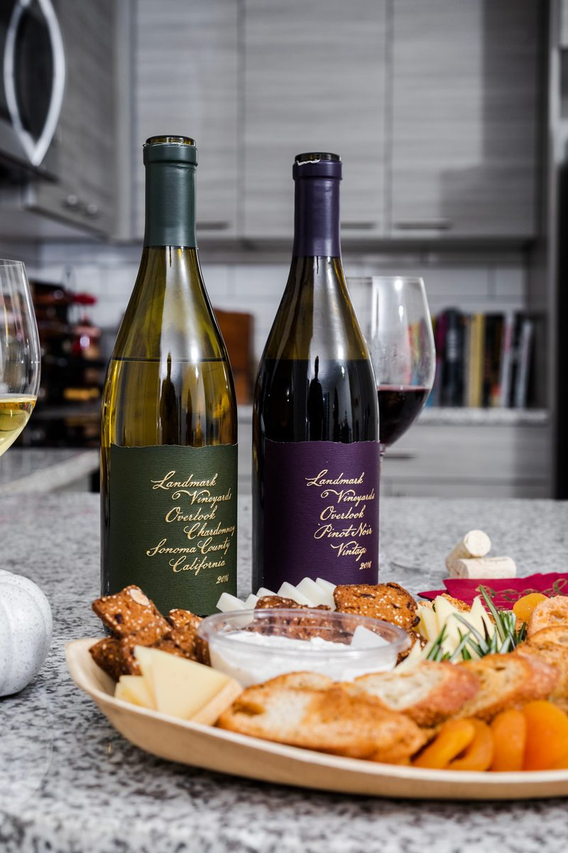 Landmark Vineyards | Fall | House Warming | How to Host a Wine and Cheese Tasting Party featured by popular Virginia lifestyle blogger Alicia Tenise