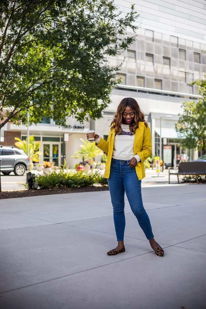 Talbots Denim Jeggings, How to Style Leopard Moccasins - Talbots Fall 2018 Collection | Why My Mom is my Biggest Style Inspiration featured by popular Virginia fashion blogger Alicia Tenise