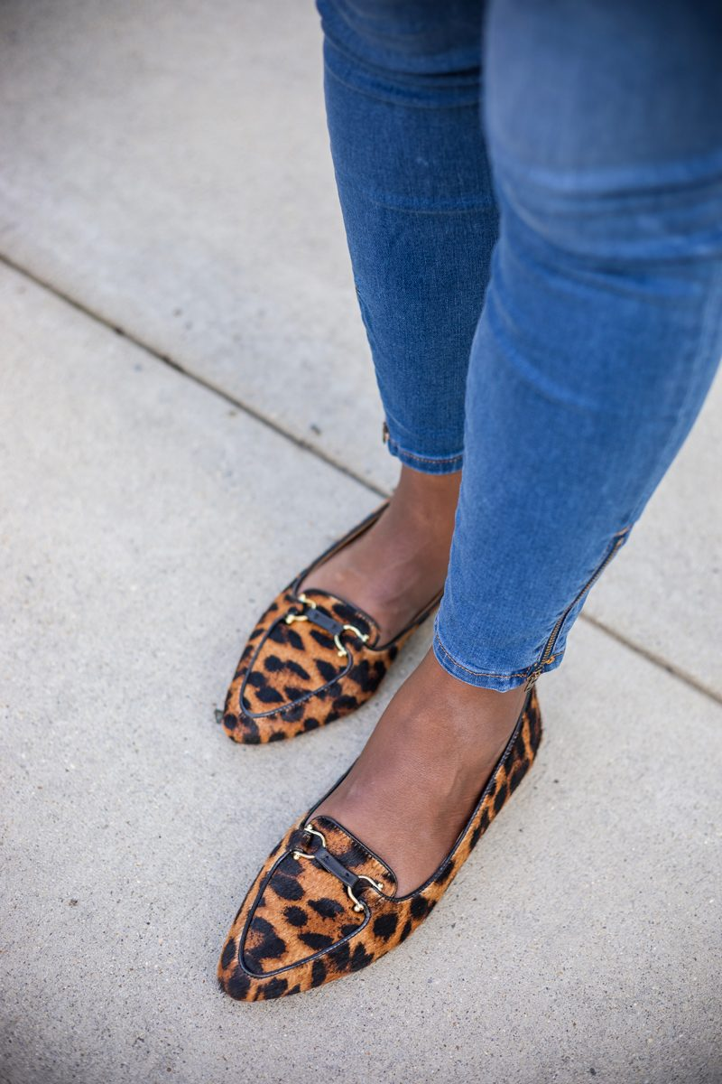 Talbots Francesca Driving Moccasins in Leopard - Talbots Fall 2018 Collection | Why My Mom is my Biggest Style Inspiration featured by popular Virginia fashion blogger Alicia Tenise