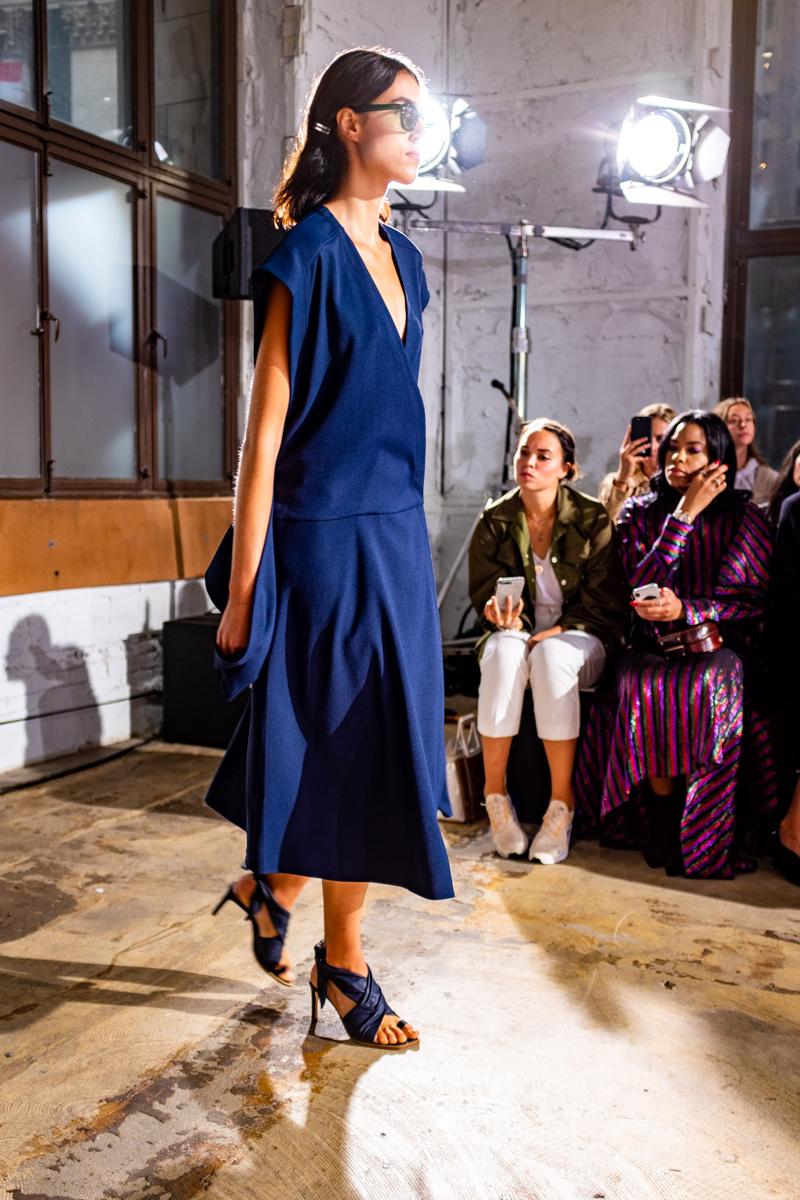 Tibi Spring Summer 2019 RTW | Tibi, Zero + Maria Cornejo | the Kendra Scott x Vogue | NYFW: Days 4-5 Recap featured by top Virginia fashion blog Alicia Tenise