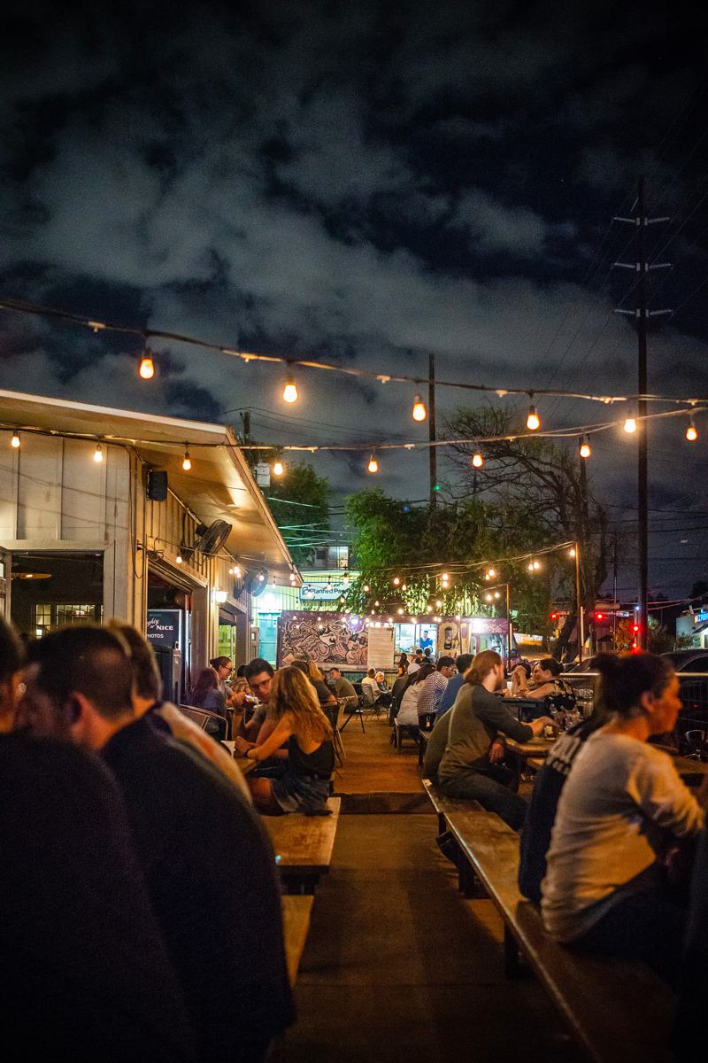 Whistler's in East Austin | The Ultimate Guide of Things to Do in Austin TX featured by top Virginia travel blog Alicia Tenise