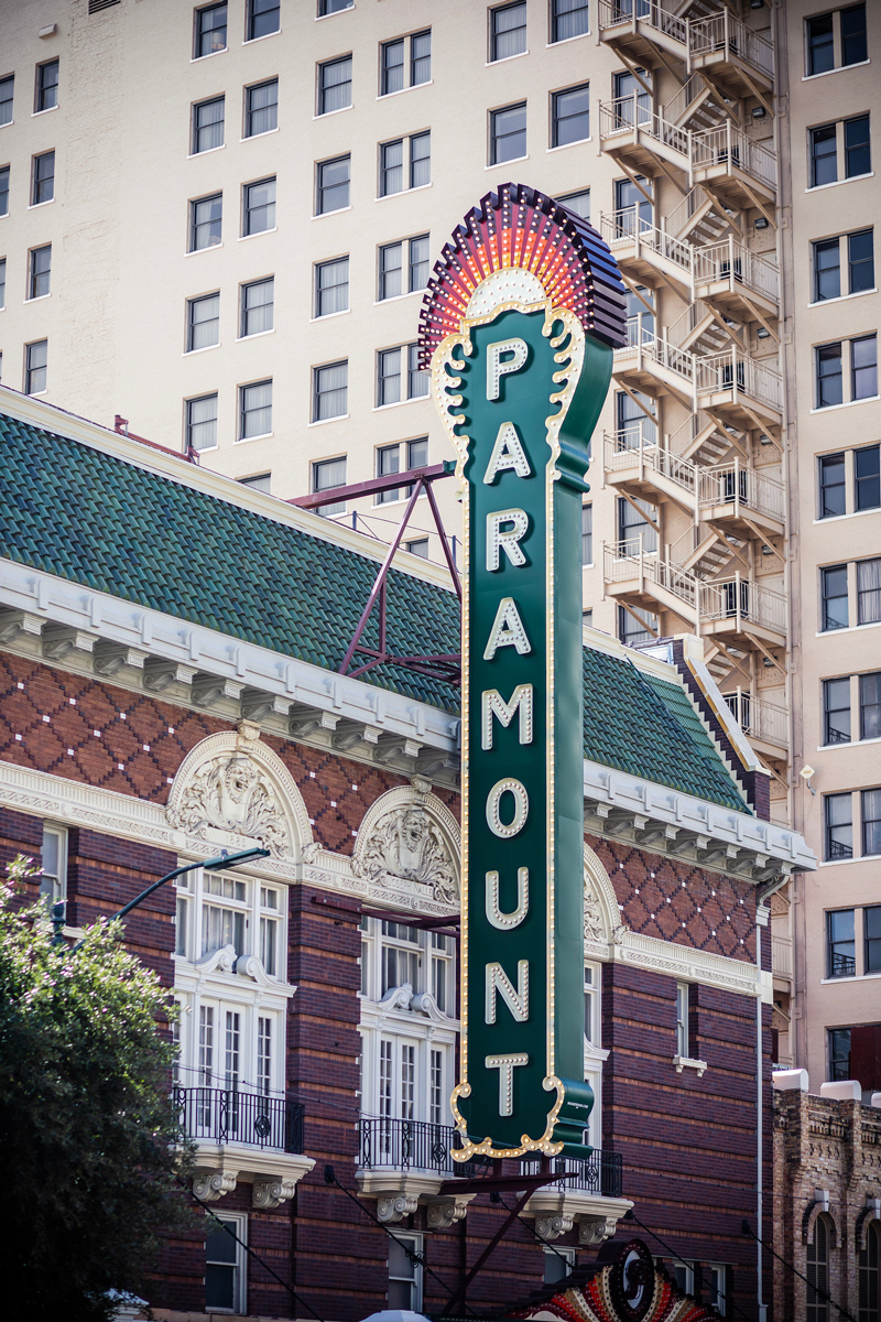 Paramount Theater Austin | The Ultimate Guide of Things to Do in Austin TX featured by top Virginia travel blog Alicia Tenise