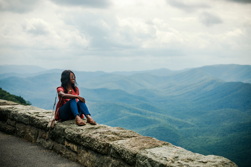 Virginia Blue Ridge Parkway   4 Road Trip Pit Stops in the Mid-Atlantic You Need to Visit featured by top Virginia travel blog Alicia Tenise