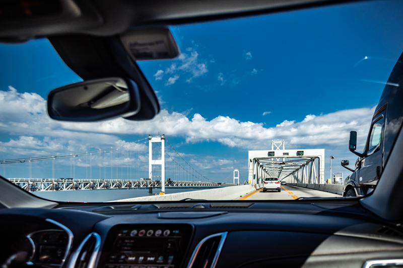 Chesapeake Bay Bridge | 4 Road Trip Pit Stops in the Mid-Atlantic You Need to Visit featured by top Virginia travel blog Alicia Tenise