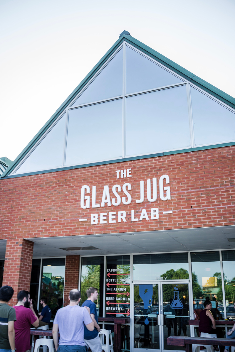 The Glass Jug Beer Lab | 5 Breweries in Raleigh You Need to Visit featured by top Virginia travel blog Alicia Tenise