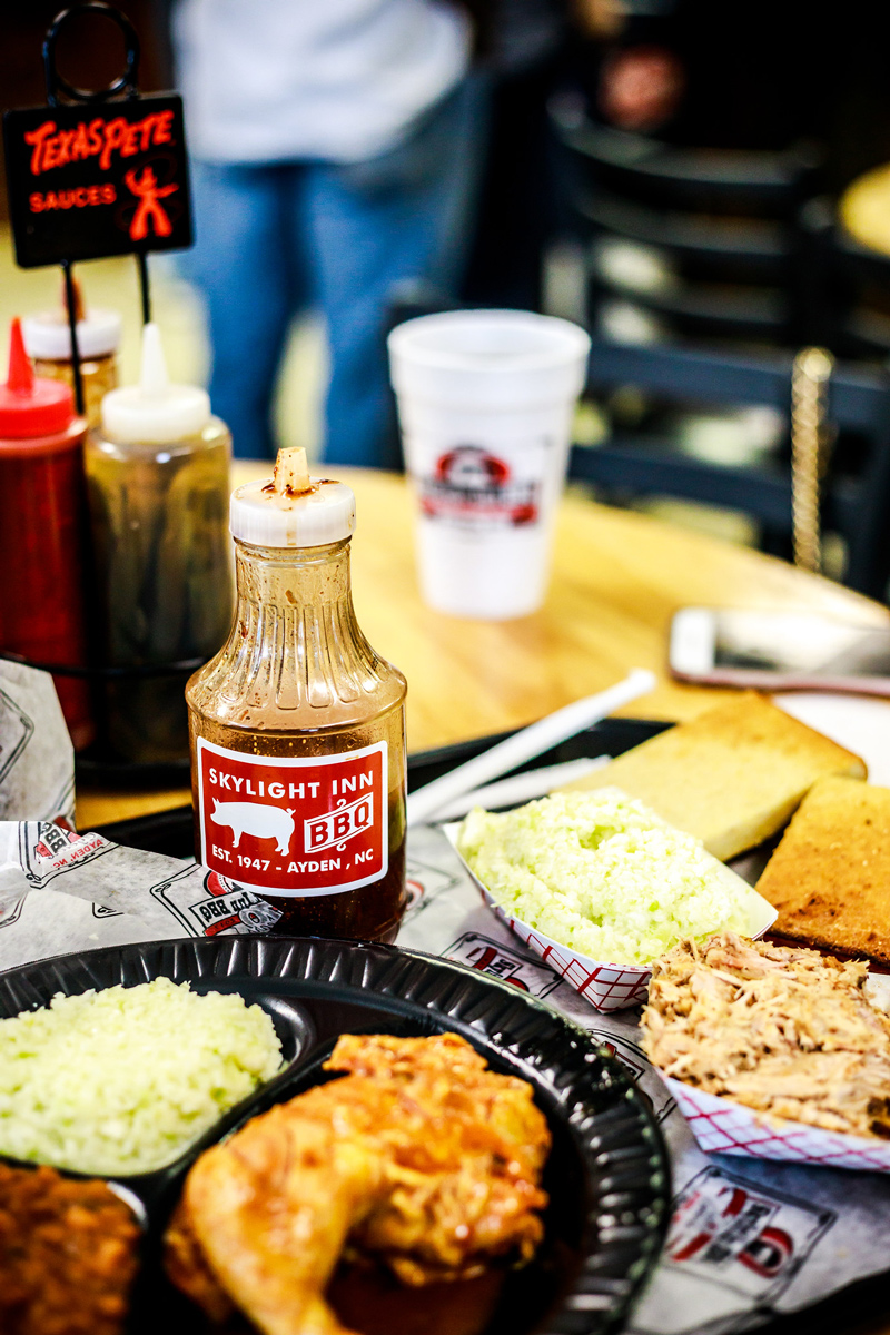 Best barbecue in North Carolina | 4 Road Trip Pit Stops in the Mid-Atlantic You Need to Visit featured by top Virginia travel blog Alicia Tenise