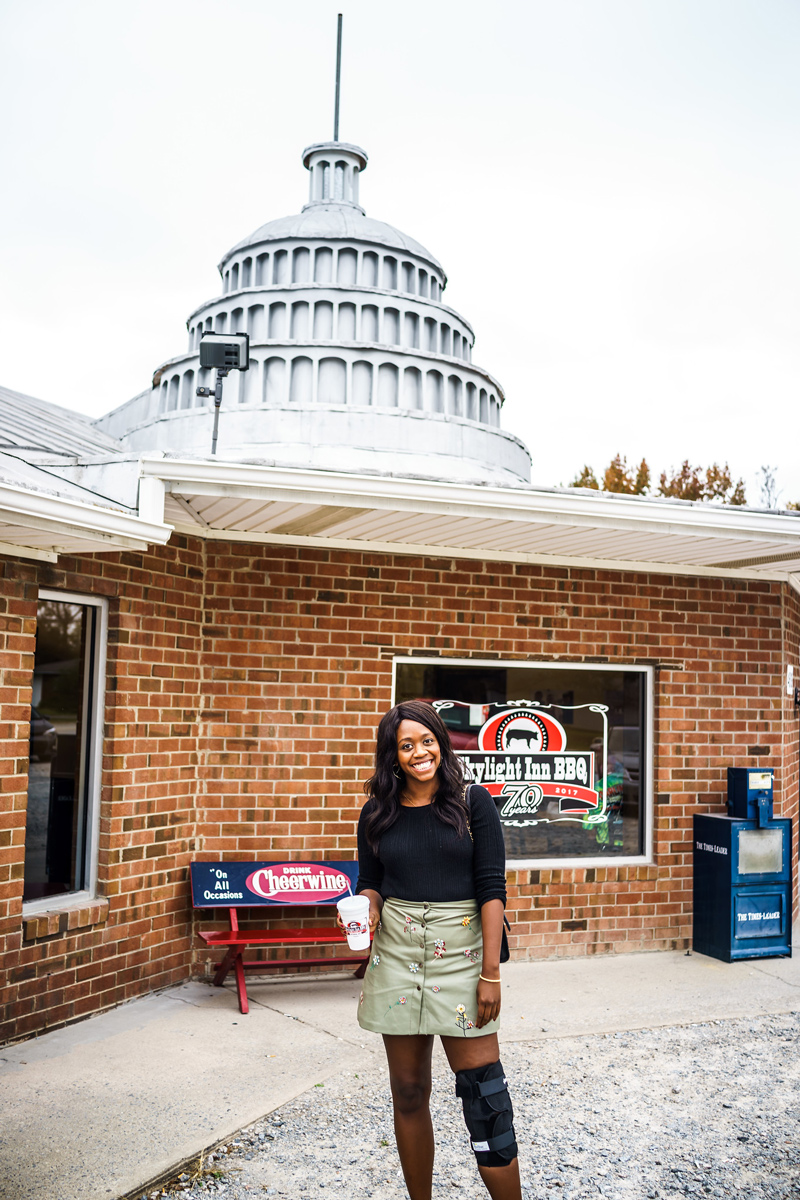 Skylight Inn BBQ   4 Road Trip Pit Stops in the Mid-Atlantic You Need to Visit featured by top Virginia travel blog Alicia Tenise