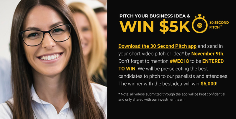 30 Second Pitch: Win $5k to Launch Your Dream Company featured by top Virginia blogger Alicia Tenise