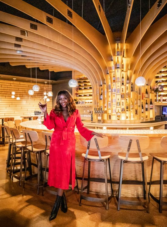 Flight Wine Bar DC, Holiday Outfit Inspiration