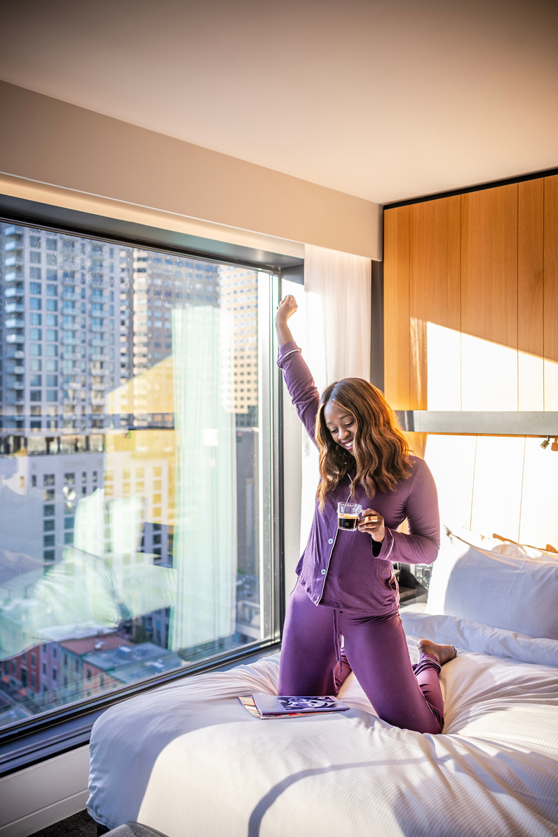 Hotel Monville Montreal | The Ultimate Guide to Montreal featured by top Virginia travel blogger Alicia Tenise