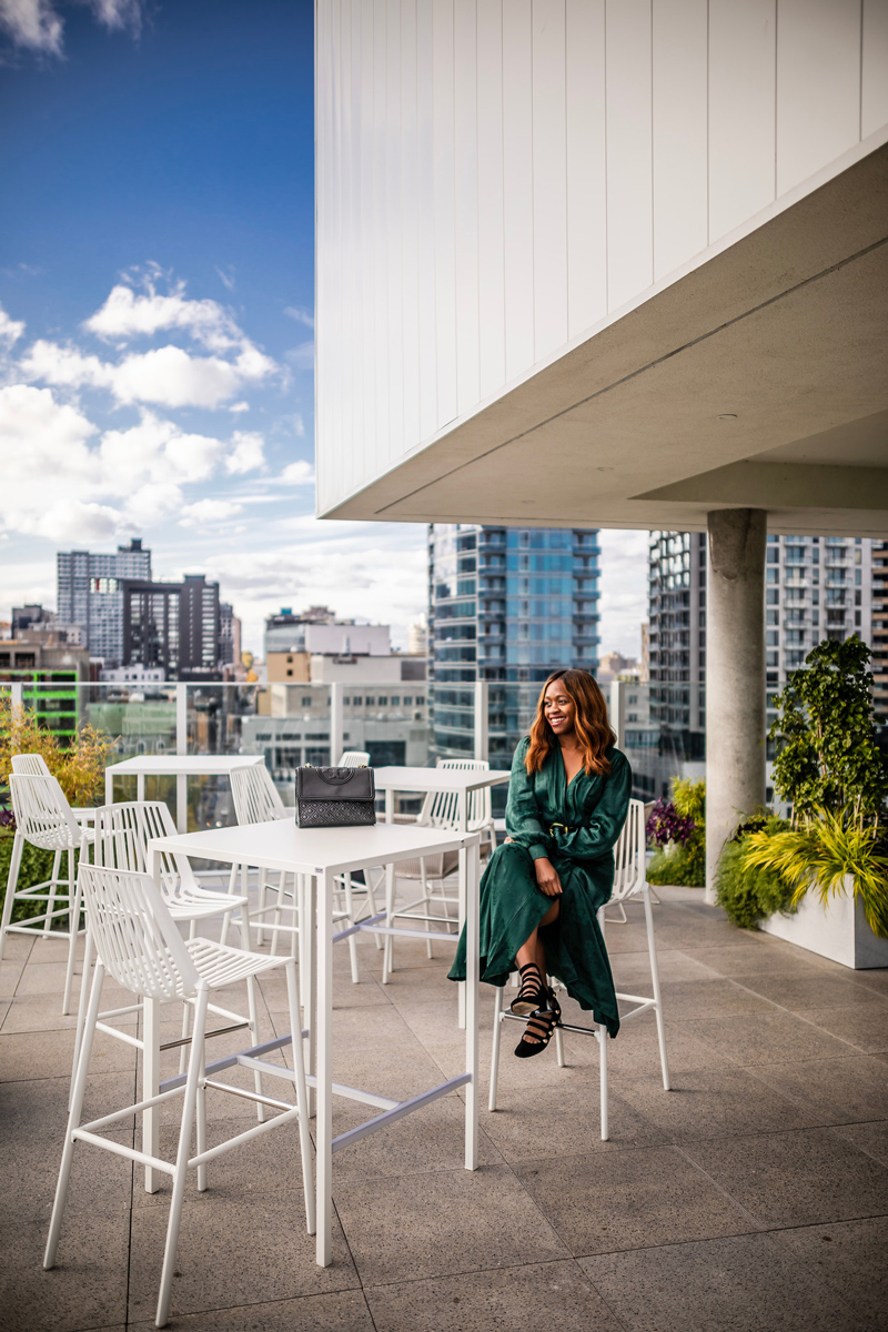 Rooftop Terrace at Hotel Monville | Where to Stay in Downtown Montreal: Hotel Monville featured by top Virginia travel blog Alicia Tenise