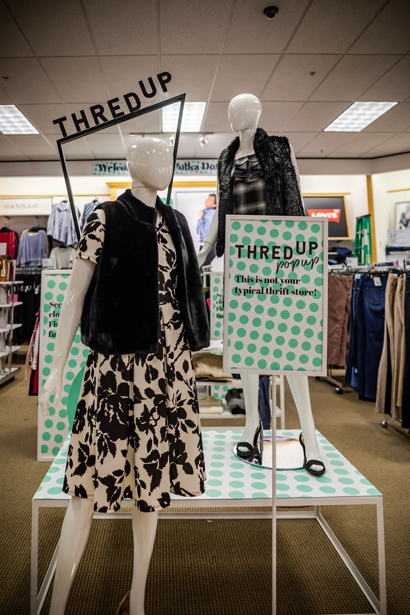 Stage x ThredUp Pop Up - Why You Should Shop the Stage Stores x ThredUp Pop Up featured by Top DC fashion blogger, Alicia Tenise