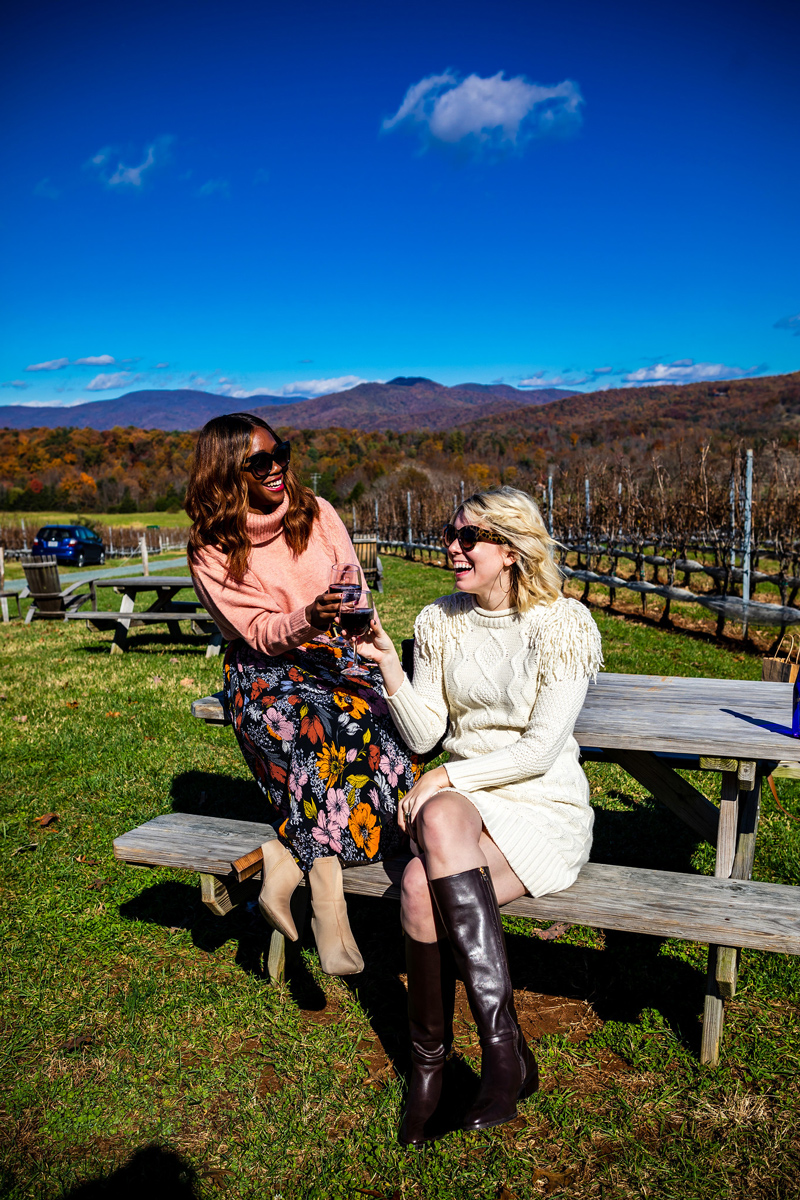 What to Wear to a Winery featured by to Virginia fashion blog Alicia Tenise