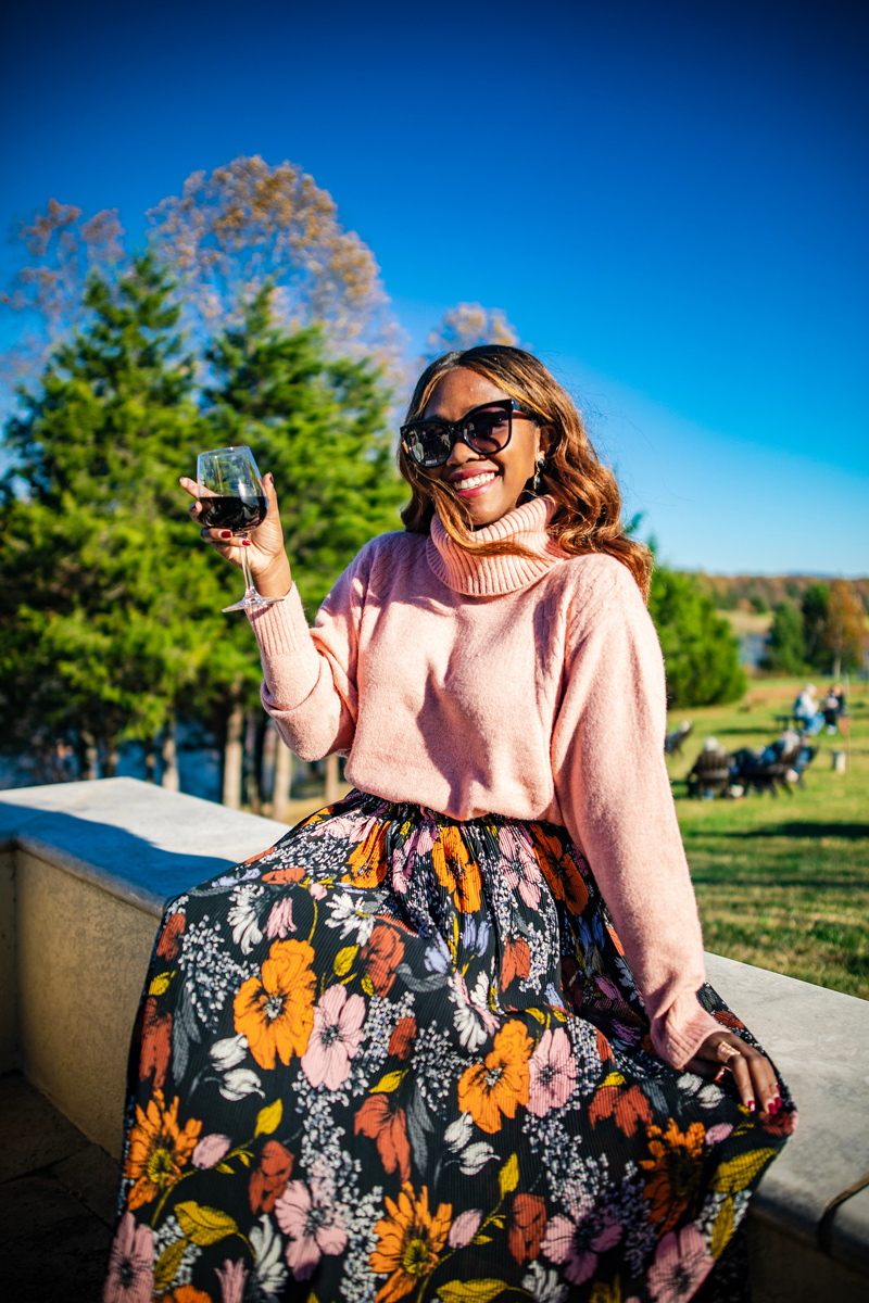 ADD TO FAVORITES Topshop Turtleneck Sweater | What to Wear to a Winery featured by to Virginia fashion blog Alicia Tenise