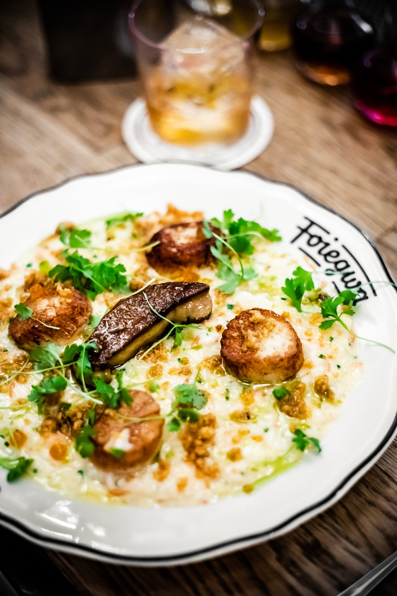 Foiegwa Scallops | The Ultimate Guide to Montreal featured by top Virginia travel blogger Alicia Tenise
