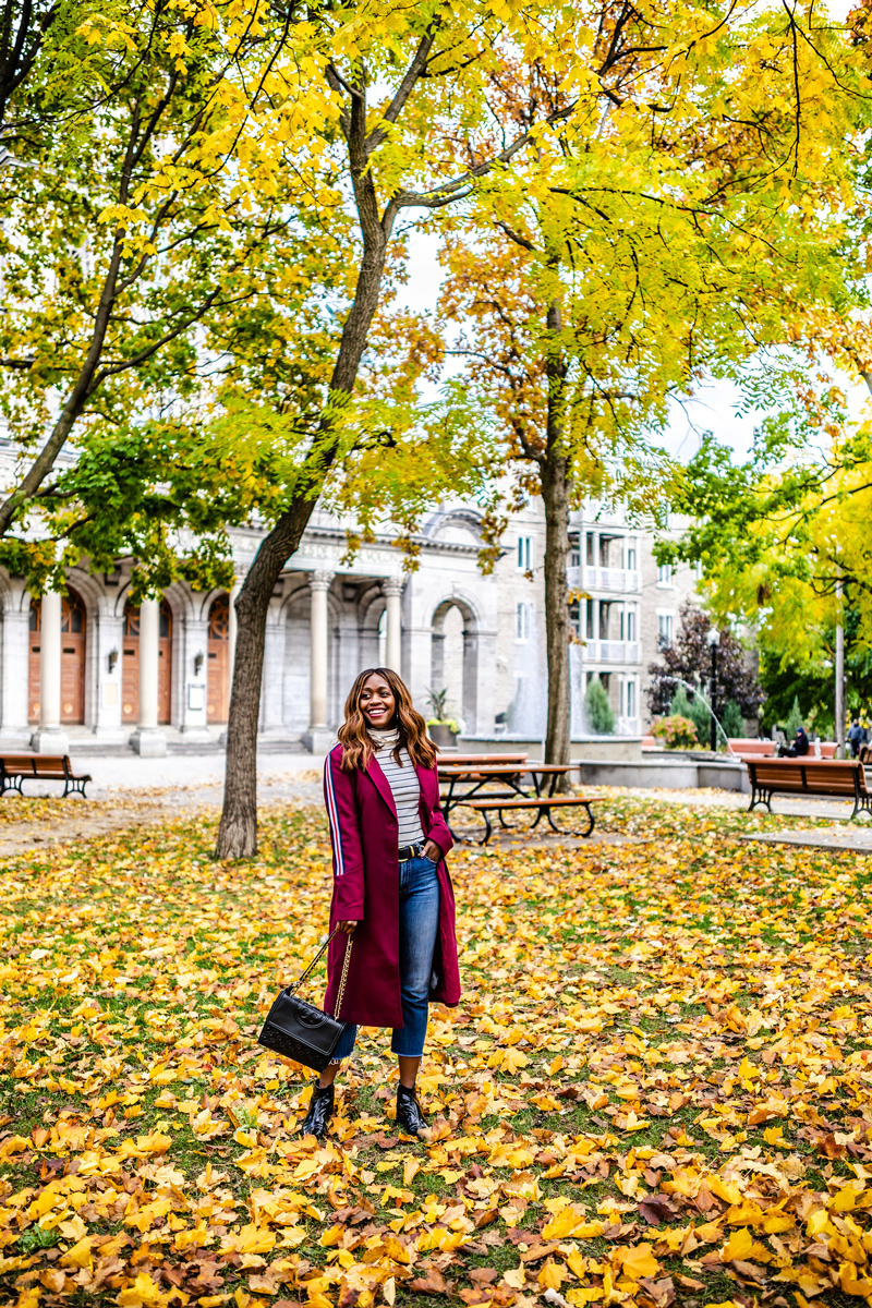Fall Foliage in Montreal | The Ultimate Guide to Montreal featured by top Virginia travel blogger Alicia Tenise