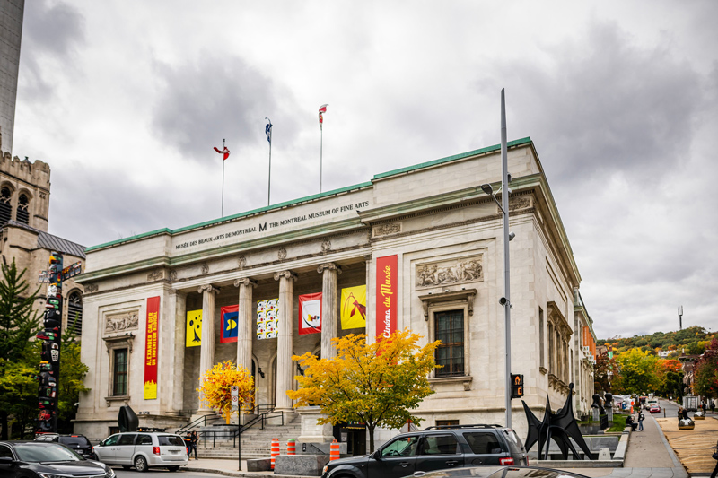 Museum of Fine Arts Montreal | The Ultimate Guide to Montreal featured by top Virginia travel blogger Alicia Tenise