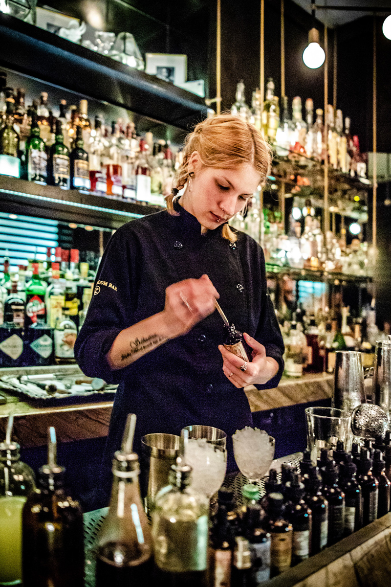 Bar Cloakroom | The Ultimate Guide to Montreal featured by top Virginia travel blogger Alicia Tenise