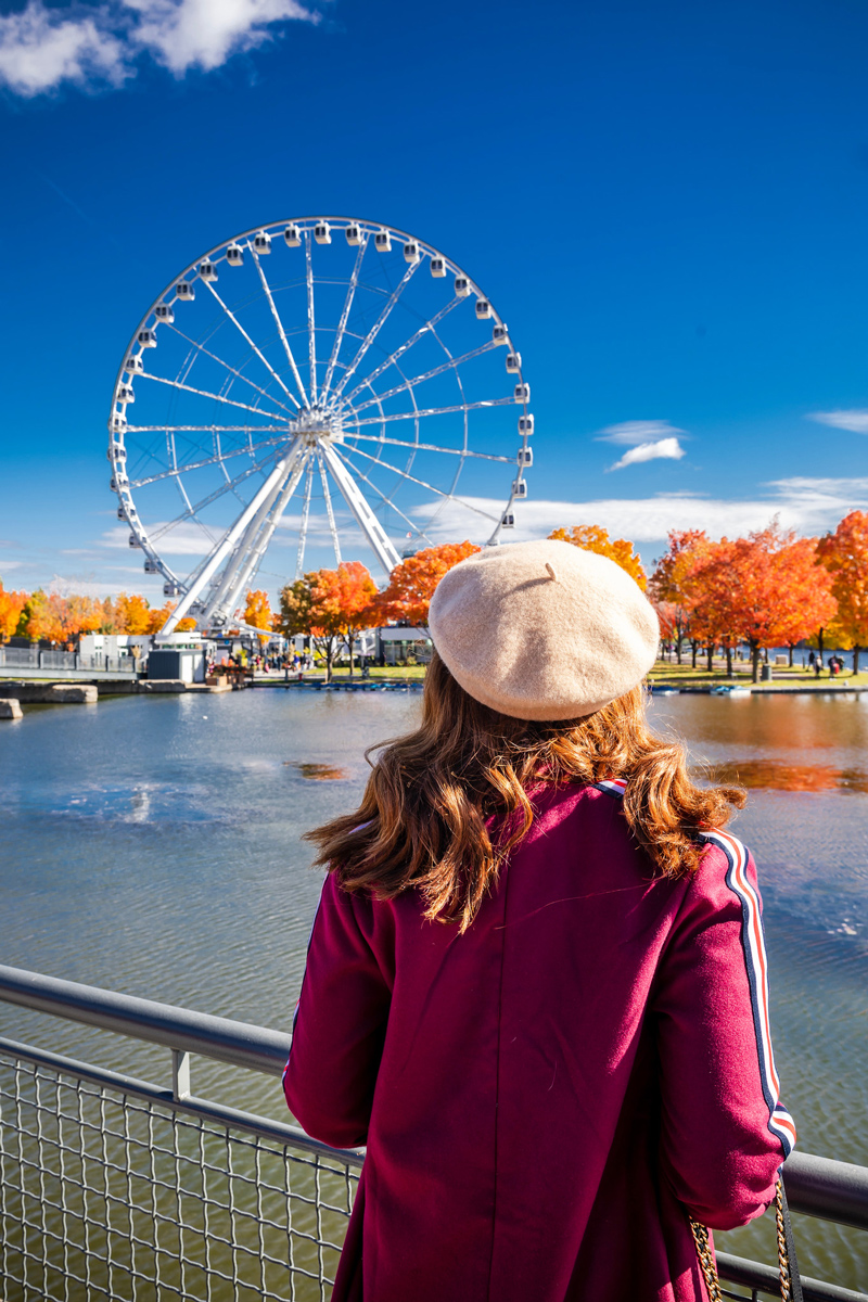 La Grande Roue de Montréal | The Ultimate Guide to Montreal featured by top Virginia travel blogger Alicia Tenise