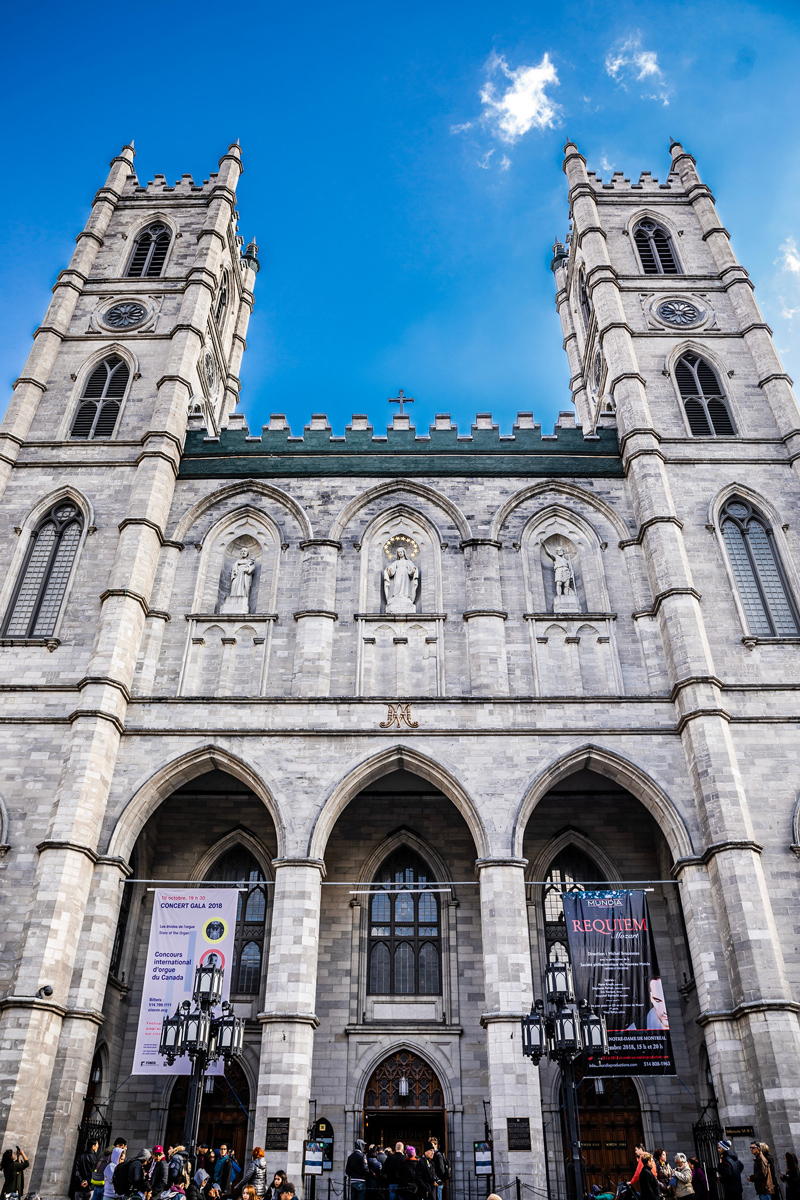 Notre Dame Montreal | The Ultimate Guide to Montreal featured by top Virginia travel blogger Alicia Tenise