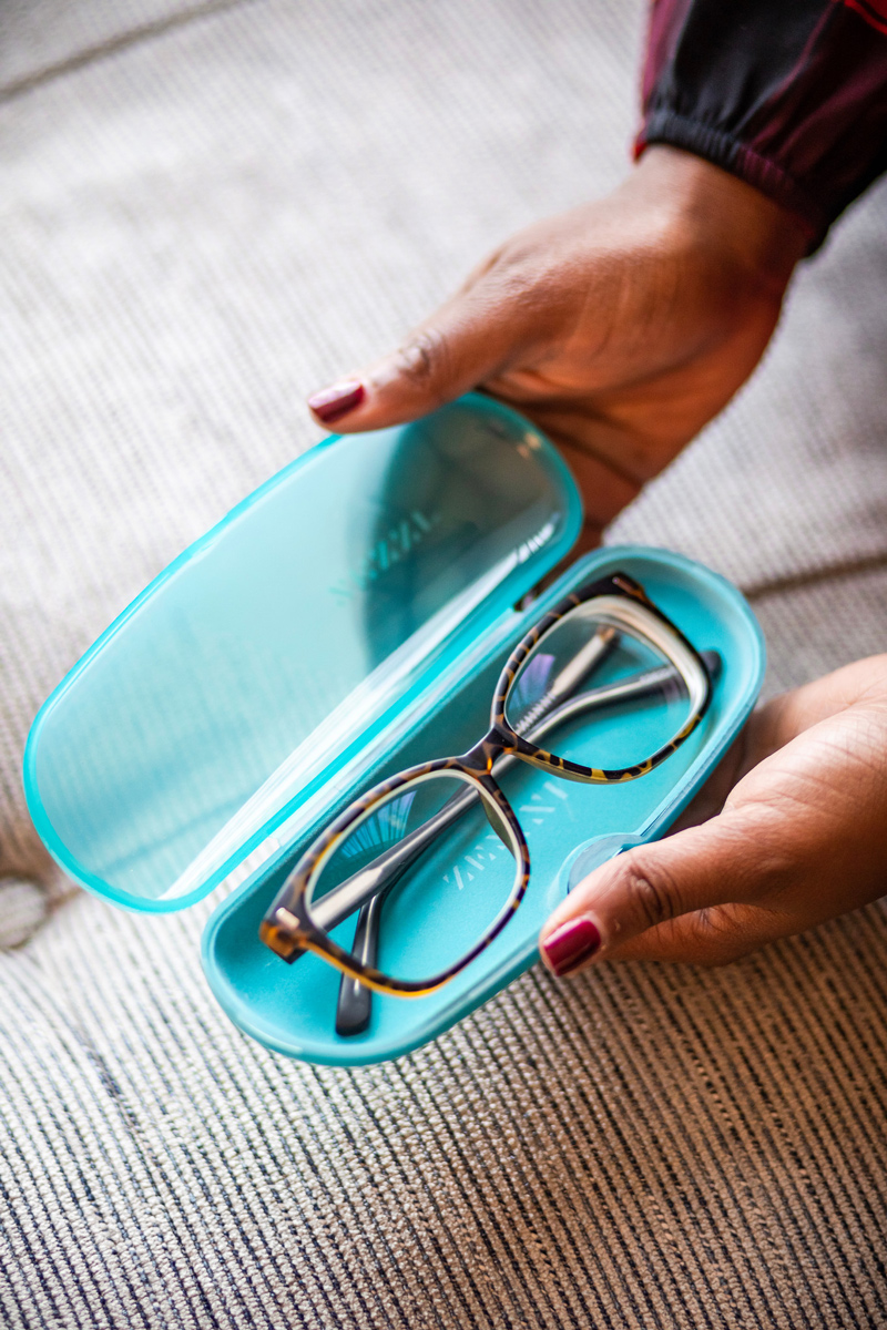 Zenni Optical Frame 126225 | Zeni Optical review featured by top Virginia life and style blogger, Alicia Tenise
