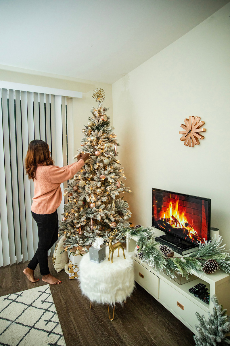 Affordable Holiday Decor Inspo   Holiday Home Decor Tour with Scotties featured by top Washington DC blogger Alicia Tenise