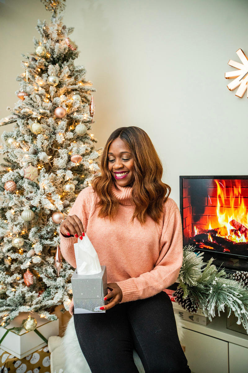 Holiday Home Decor Tour with Scotties featured by top Washington DC blogger Alicia Tenise