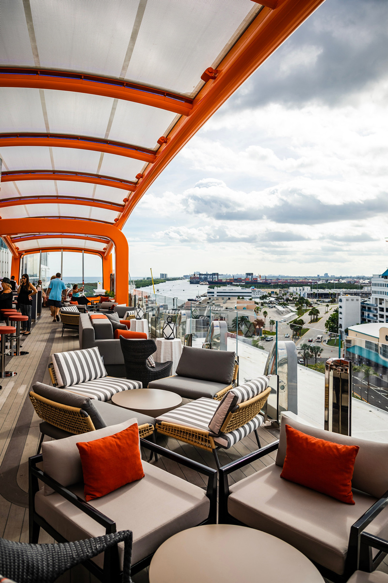 Magic Carpet Celebrity Edge   Top DC Travel Blogger Alicia Tenise exclusively reviews the brand new Celebrity Edge cruise ship