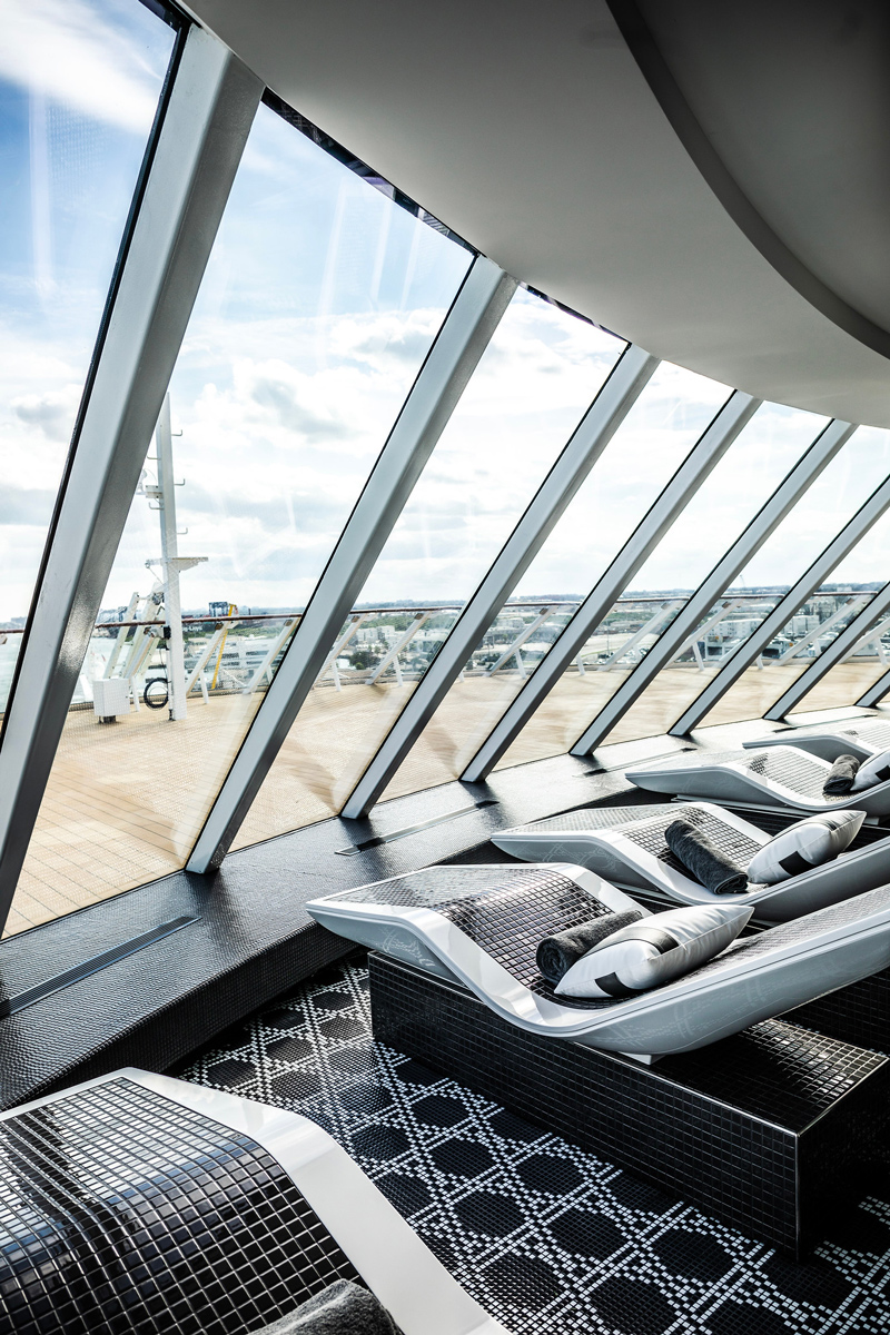 The Retreat at The Celebrity Edge   Top DC Travel Blogger Alicia Tenise exclusively reviews the brand new Celebrity Edge cruise ship