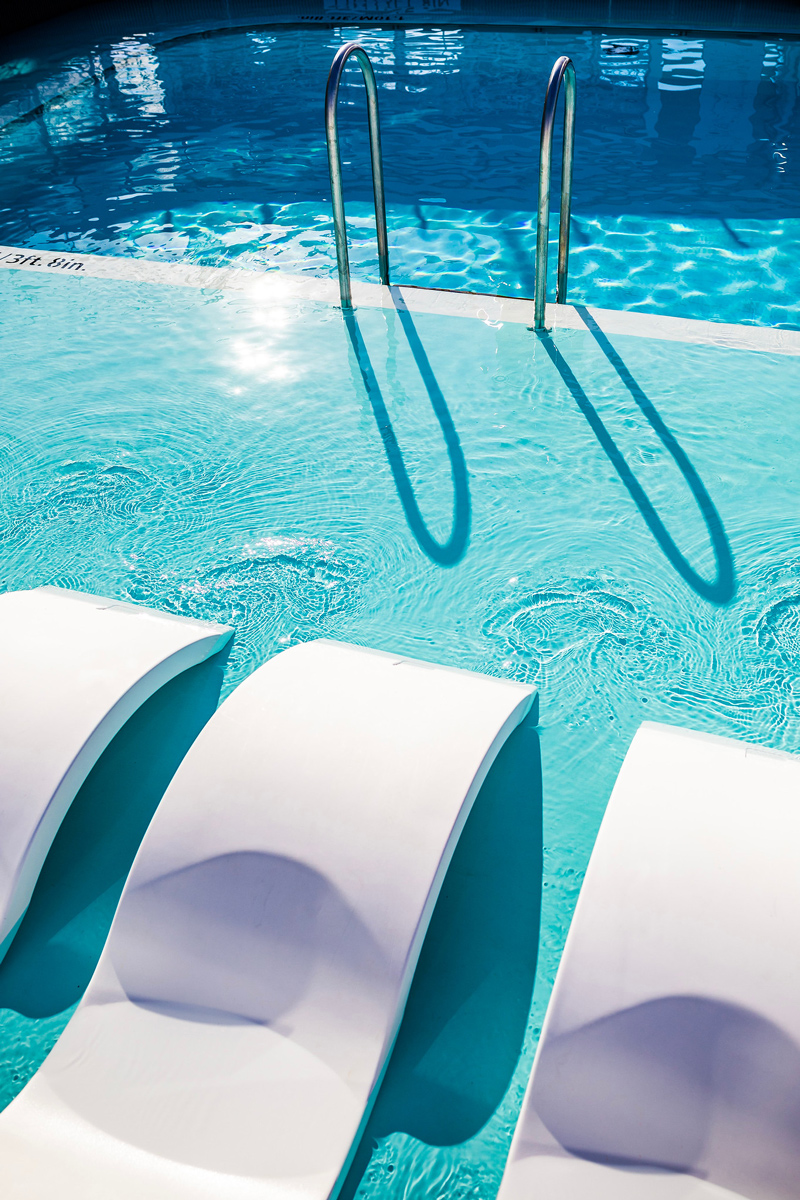 Pool Lounge Chairs at Celebrity Edge   Top DC Travel Blogger Alicia Tenise exclusively reviews the brand new Celebrity Edge cruise ship