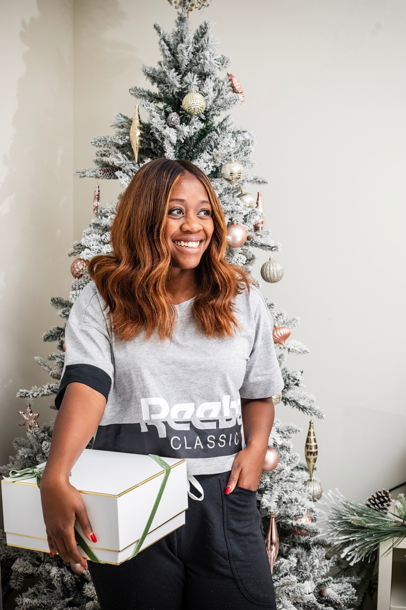 Gift Ideas for the Athlete with Reebok, Reebok Classics Cropped Tee - The Best Fitness Gift Ideas for the Workout Junkie featured by top DC life and style blogger, Alicia Tenise