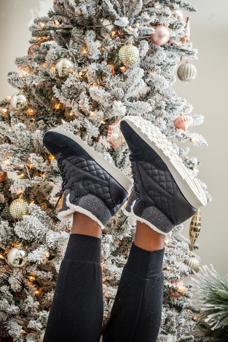 Reebok Classic Leather Arctic Boot - The Best Fitness Gift Ideas for the Workout Junkie featured by top DC life and style blogger, Alicia Tenise