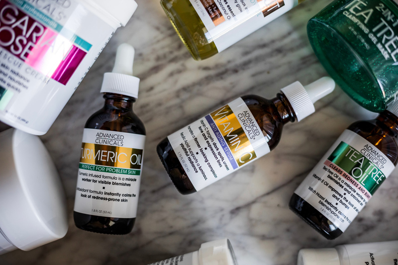 Advanced Clinicals Tumeric Oil | Advanced Clinicals: the Affordable Skincare Line You Need to Try featured by top DC beauty blogger Alicia Tenise