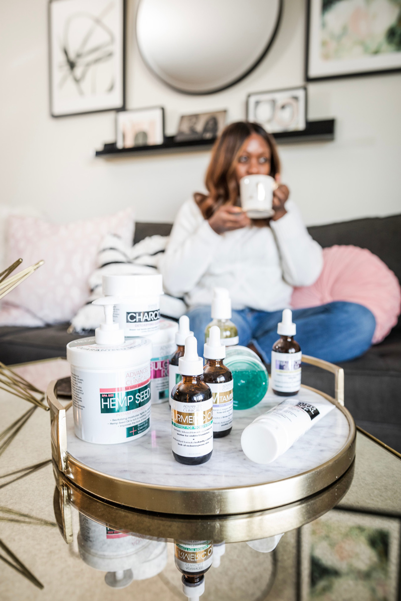 The Ultimate Advanced Clinicals Review | Advanced Clinicals: the Affordable Skincare Line You Need to Try featured by top DC beauty blogger Alicia Tenise