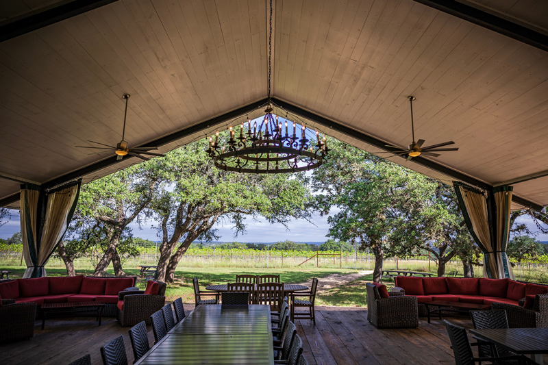 Lewis Wines Texas | Salt Lick Cellars | The Best Wineries in Texas Hill Country featured by top US travel blogger, Alicia Tenise: Image at the Salt Lick Cellars