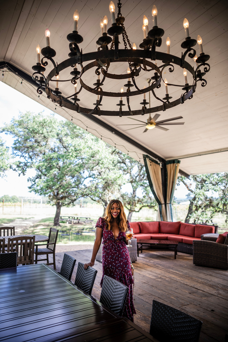 Best Wineries in Texas Hill Country | Salt Lick Cellars | The Best Wineries in Texas Hill Country featured by top US travel blogger, Alicia Tenise: Image at the Salt Lick Cellars