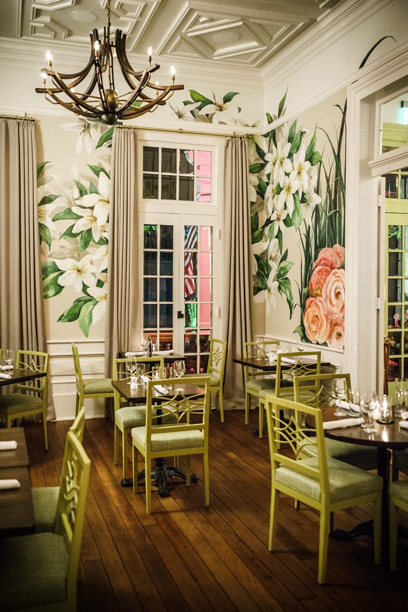 Top Things to Do in Bywater New Orleans featured by top US travel blogger, Alicia Tenise: have dinner at The Country Club New Orleans
