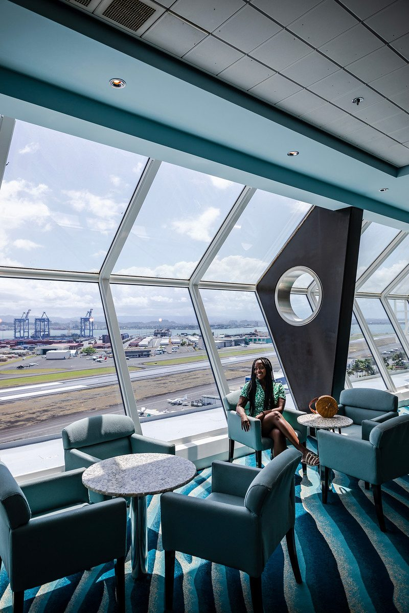 New Celebrity Summit review featured by top US travel blogger, Alicia Tenise: image of Celebrity Summit Sky Lounge