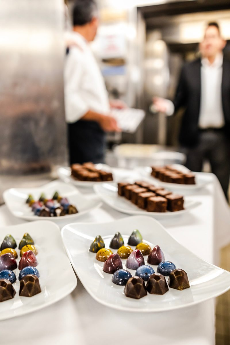 New Celebrity Summit review featured by top US travel blogger, Alicia Tenise: image of Pastry Chef Options Celebrity Summit