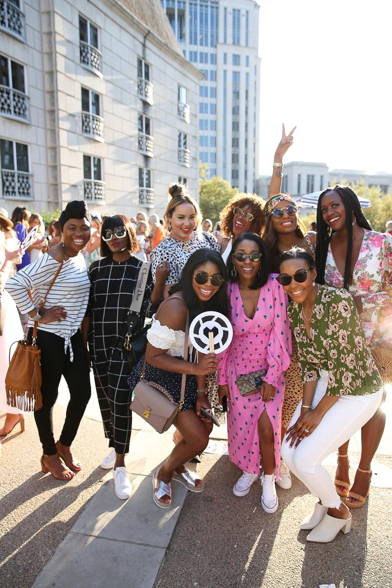The Influencers of Color You Need to Follow by popular DC lifestyle blogger, Alicia Tenise: image of a group of black women standing together outside and posing for a picture.