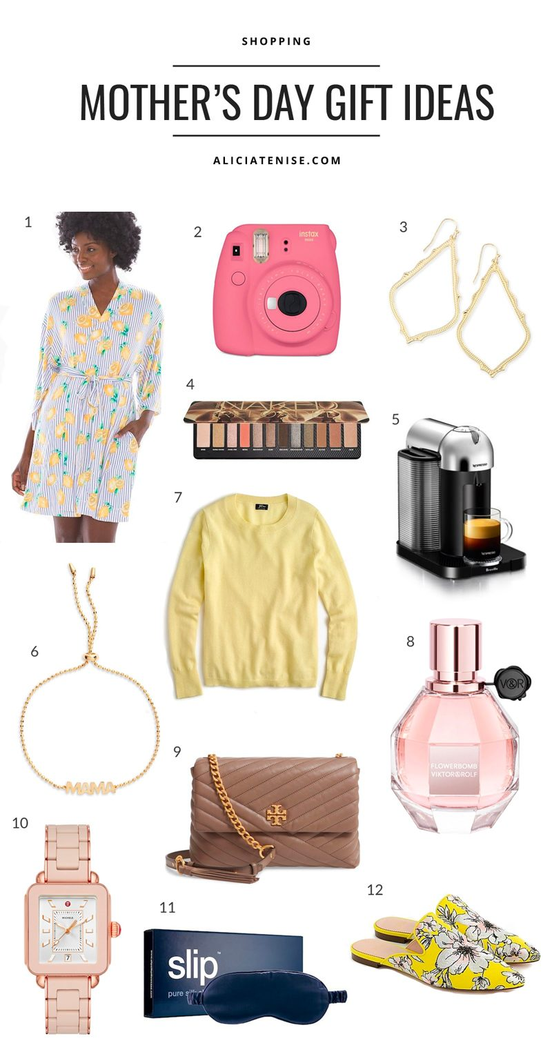 Unique Mother's Day Gift Ideas featured by top US life and style blogger Alicia Tenise